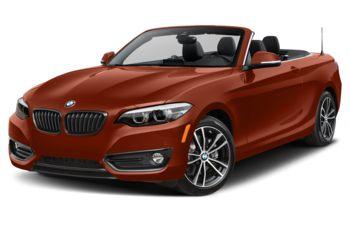 2021 BMW 230 - Sunset Orange Metallic