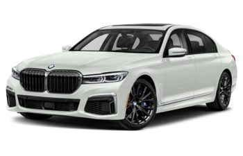 2021 BMW M760 - Alpine White