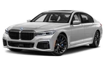 2020 BMW M760 - Mineral White Metallic