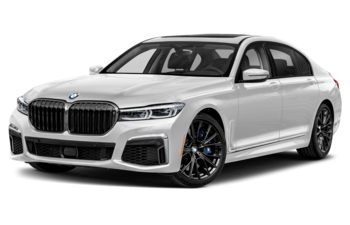 2021 BMW M760 - Brilliant White Metallic