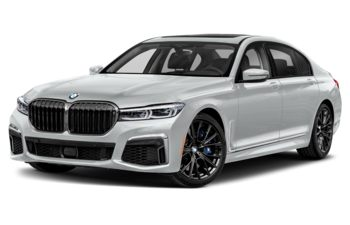 2021 BMW M760 - Frozen Brilliant White