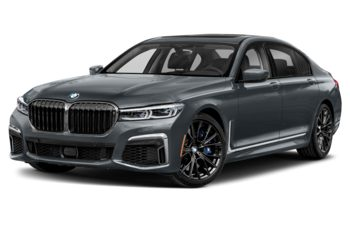 2021 BMW M760 - Bernina Grey Amber Metallic