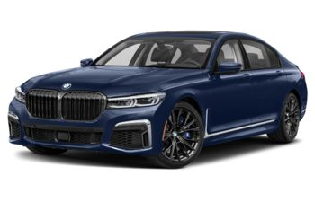 2020 BMW M760 - Tanzanite Blue Metallic