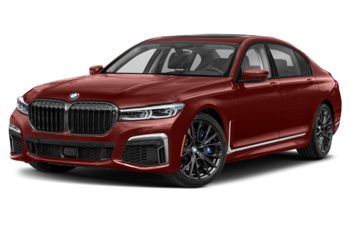 2020 BMW M760 - Aventurine Red Metallic