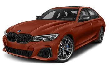 2021 BMW M340 - Sunset Orange Metallic