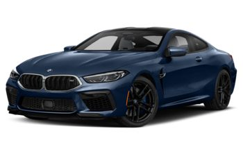 2020 BMW M8 - Marina Bay Blue Metallic