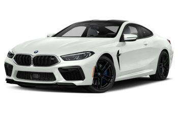 2020 BMW M8 - Alpine White