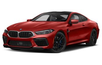 2020 BMW M8 - Motegi Red Metallic