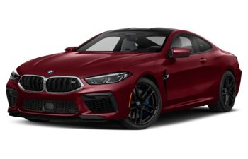 2020 BMW M8 - Aventurine Red Metallic