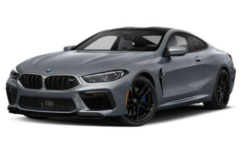 2020 BMW M8 - Frozen Bluestone Metallic
