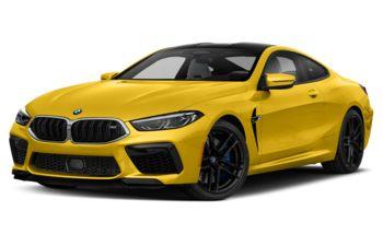 2020 BMW M8 - Speed Yellow
