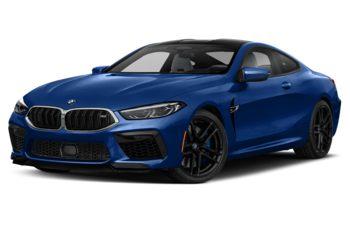 2020 BMW M8 - Frozen Marina Bay Blue