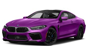 2020 BMW M8 - Twilight Purple