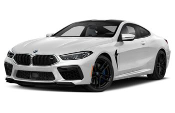 2020 BMW M8 - Brilliant White Metallic