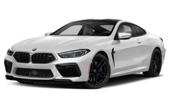 2020 BMW M8 - Brilliant White Metallic