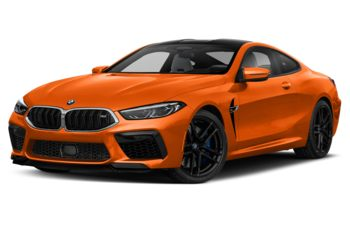 2020 BMW M8 - Fire Orange