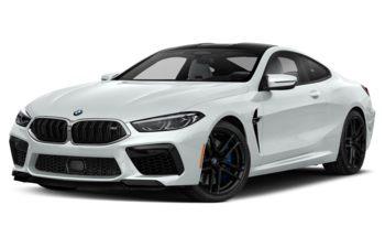2020 BMW M8 - Frozen Brilliant White