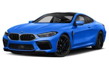 2020 BMW M8 - Santorini Blue II