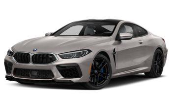 2020 BMW M8 - Frozen Cashmere Silver
