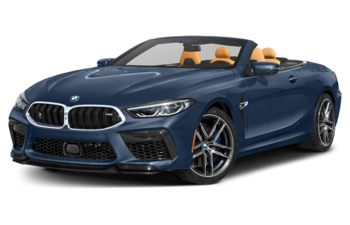 2020 BMW M8 - Sonic Speed Blue Metallic