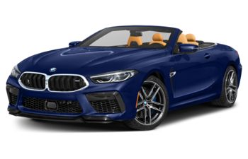 2020 BMW M8 - Marina Bay Blue Metallic