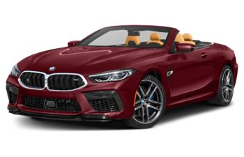 2020 BMW M8 - Aventurine Red Metallic