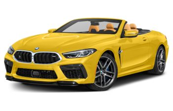 2020 BMW M8 - Speed Yellow