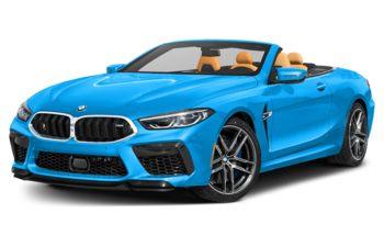 2020 BMW M8 - Laguna Seca Blue