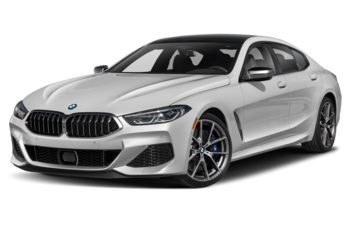 2021 BMW M850 Gran Coupe - Mineral White Metallic