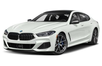2021 BMW M850 Gran Coupe - Alpine White
