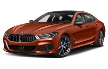 2021 BMW M850 Gran Coupe - Sunset Orange Metallic