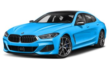 2021 BMW M850 Gran Coupe - Laguna Seca Blue