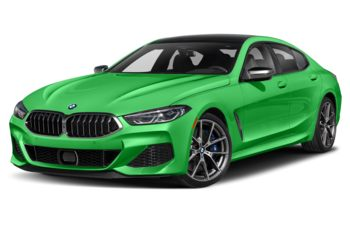 2021 BMW M850 Gran Coupe - Signal Green