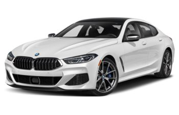 2021 BMW M850 Gran Coupe - Brilliant White Metallic