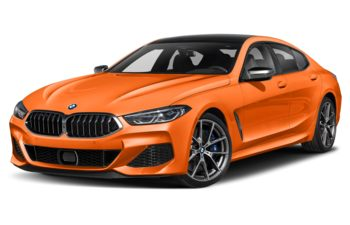 2021 BMW M850 Gran Coupe - Fire Orange