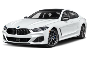 2020 BMW M850 Gran Coupe - Frozen Brilliant White