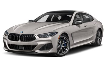 2020 BMW M850 Gran Coupe - Frozen Cashmere Silver