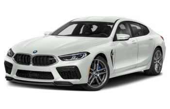 2021 BMW M8 Gran Coupe - Alpine White