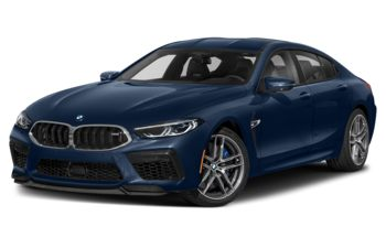 2021 BMW M8 Gran Coupe - Sonic Speed Blue Metallic