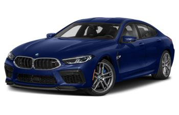 2021 BMW M8 Gran Coupe - Marina Bay Blue Metallic