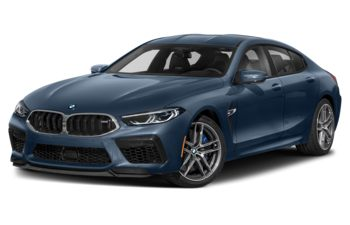 2021 BMW M8 Gran Coupe - Barcelona Blue Metallic