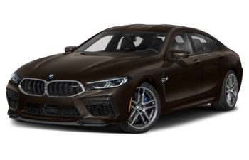 2021 BMW M8 Gran Coupe - Almandine Brown Metallic