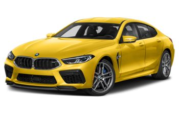 2020 BMW M8 Gran Coupe - Speed Yellow