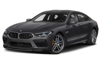2020 BMW M8 Gran Coupe - Frozen Arctic Grey