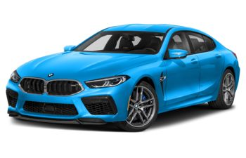 2021 BMW M8 Gran Coupe - Laguna Seca Blue