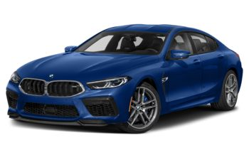 2021 BMW M8 Gran Coupe - Frozen Marina Bay Blue
