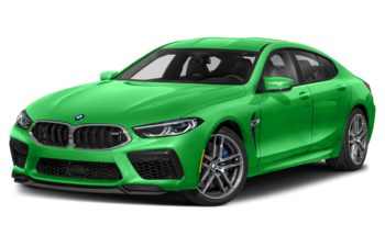2021 BMW M8 Gran Coupe - Signal Green