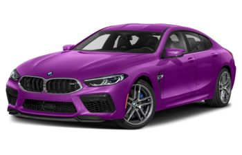 2021 BMW M8 Gran Coupe - Twilight Purple