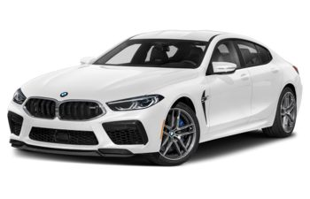 2021 BMW M8 Gran Coupe - Brilliant White Metallic