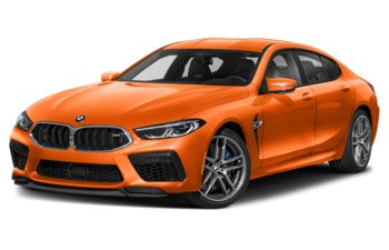 2020 BMW M8 Gran Coupe - Fire Orange